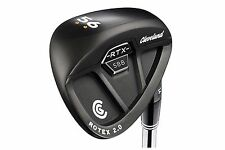 New Cleveland 588 RTX 2.0 Rotex CB Black Wedge set 52* AW 56* SW 60* LW Wedges