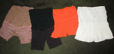 VINTAGE LOT OF RUFFLED PETTIPANTS BLOOMERS PANTALOONS SISSY PANTS PANTIES