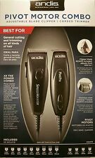 Andis Professional Speed Master Clipper + Pivot Pro Trimmer - Motor Combo #24075