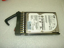 "Lot of 10 __ HP 146gb 10k Dual Port SAS 2.5"" Hard Drive with Tray __ 418399-001"