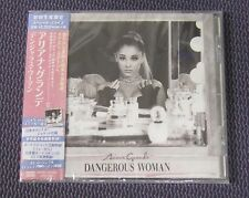 "ARIANA GRANDE ""DANGEROUS WOMAN"" JAPAN CD 18 TRACKS *SEALED"""