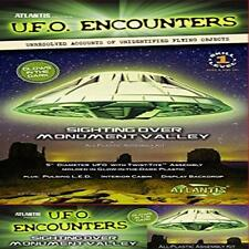"""Monument Valley Ufo Glow-In-The-Dark 5"""" Model Kit With Light Toy Play Atlantis"""