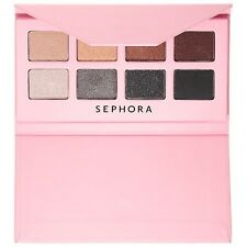SEPHORA Romantic Eyeshadow Palette 8 Colors Matte iridescent Nude Bold NIB