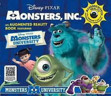 Monsters, Inc. Augmented Reality Book by Caroline Rowlands (2015, Hardcover)