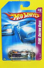 2008 Hot Wheels TEAM: Custom Bikes #150 Airy 8 - Purple - Variant