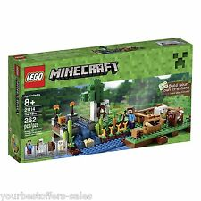 LEGO Minecraft 21114 The Farm Lego Farm Set Boys Girls Building Toy Brand New
