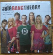 New in Plastic not opened sealed The Big Bang Theory 2014 16-Month Mini Calendar