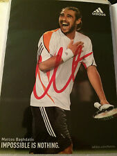 6x4 Hand Signed Photo of Tennis Star Marcos Baghdatis