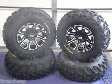 "POLARIS SPORTSMAN 500 25"" BEAR CLAW ATV TIRE & ATV WHEEL KIT LIFE WARRANTY SS3"