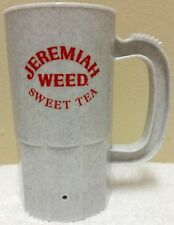 NEW JEREMIAH WEED Southern Style Sweet Tea Plastic Party Mugs 14 OZ Steins USA