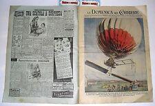 LA DOMENICA DEL CORRIERE n. 1 - (1950) con sovracoperta pubblicitaria!!!