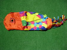 BALI COLOURFUL FISH, WIND SOCK KITE. HOME DECOR, ORNAMENTAL, FLAG, BINTANG.