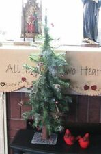 Cheerful FROSTED HOLIDAY BERRY TREE Lodge Decor Festive Christmas Decor ~ NICE!