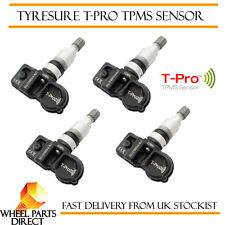 TPMS Sensors (4) TyreSure  Tyre Pressure Valve for Vauxhall Astra H 4 Door 07-09