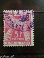 FRANCE, 1946-55, timbre TAXE 85, type GERBES, oblitéré, VF CANCELLED STAMP TAX