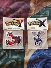 Pokemon X Y Fabric Patches. Rare! Not for sale back label