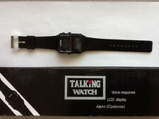 English Talking Wrist Watch blind visually impaired. 2 FREE EXTRA BATTERIES