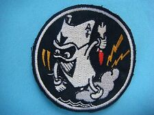 VIETNAM WAR BL PATCH US NAVY FIGHTER SQUADRON  VF- 41 BLACK DEVIL