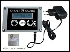Chickenguard Automatic Chicken Coop Door Opener ASTi Premium - AC Power USA!