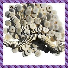 50 Beads Coconut disk 20 mm natural colors