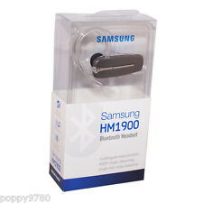 New Samsung HM1900 Wireless Bluetooth Headset A2DP Music Streaming Gray Retail