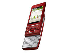 Sony Ericsson Hazel J20 RED (Unlocked) Cellular Phone wifi GPS Free Shipping