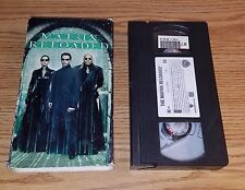 The Matrix Reloaded (VHS, 2003, Pan  Scan) comes with dust cover