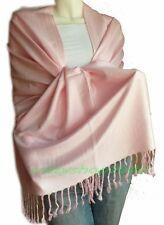 Elegant Pashmina Cashmere Scarf Wool Shawl/Wrap/Pink