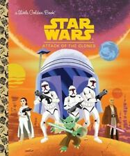 Star Wars: Attack of the Clones (Star Wars) (Little Golden Book)-ExLibrary