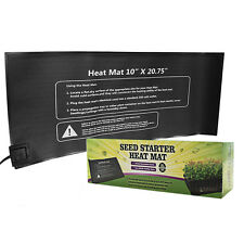 "Seedling Heat Mat 10"" x 20"" Seed Starter Pad for Germination Propagation Cloning"