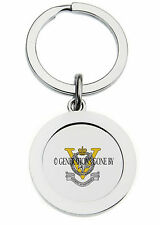 JOINT HELICOPTER COMMAND FLYING STATION ALDERGROVE KEY RING (METAL)