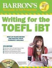 Writing for the TOEFL iBT with Audio CD, 4th Edition (Barron's Writing-ExLibrary