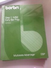 Barbri MBE Bar Review Step 1: Early Bar Prep 2010 Edition Law