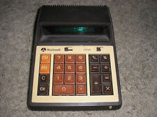 Rockwell International 310A Vintage Desktop Calculator - VERY RARE - UNTESTED!