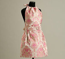Imperial Pink Heiress Apron, NEW, handmade in USA