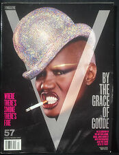 V MAGAZINE 57- GRACE JONES SPRING 2009 Jean Paul Goude Anja Rubik Dakota Fanning
