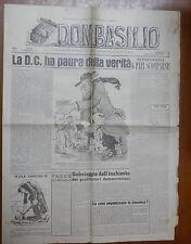 DON BASILIO 9 Marzo 1947 Papi scomparsi Azione Cattolica De Gasperi Messe Borgia