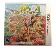 Rune Factory 4 Nintendo 3DS COMPLETE Game+Case+Manual