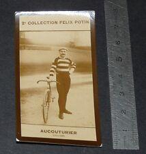 PHOTO IMAGE FELIX POTIN 2ème ALBUM 1910 CYCLISME AUCOUTURIER PARIS-ROUBAIX 1903