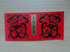 China 1988 Jan 5 T.124 Chinese New Year of the Dragon complete Booklet SB15
