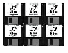Emu Proteus Synth Patches - 6 bank set