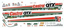 CASTROL GTX TOP FUEL DRAGSTER 1/24th - 1/25th Scale Waterslide Decals