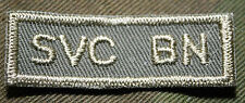 """CANADIAN ARMY COMBAT TAB UNIT BADGE  INSIGNIA  """"SVC BN""""  BUY 1 GET 1 FREE"""