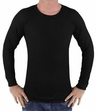 Men's Sun Wear All Black Long Sleeve Thermal Size 3X-Large Brand New!