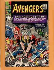 Avengers # 12 1st Monk Keefer Jan 1965 FN