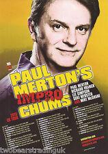 Event Promo Flyer: Paul Merton's Impro Chums - UK Tour 2015