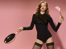 AGENT PROVOCATEUR BLACK THEODORA BODY SIZE MEDIUM / 3 / 10-12 RRP £625