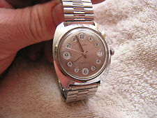 Vintage Timex Electronic Date Watch Telephone Dial