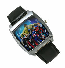 Marvel Universe The Avengers Superhero HULK Captain America Thor Watch Wrist FC2