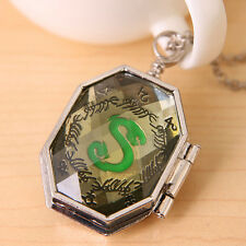 Harry Potter Horcrux Locket Necklace Harry Potter Antique Silver Necklace